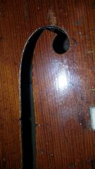 Rocca cello left  F hole