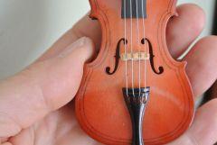 Czec violin F holes