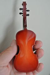 Czech violin back