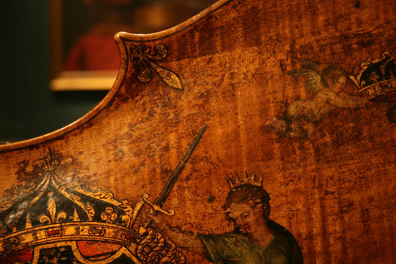 King Cello Detail