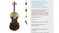 alleged matthias thir violin 9