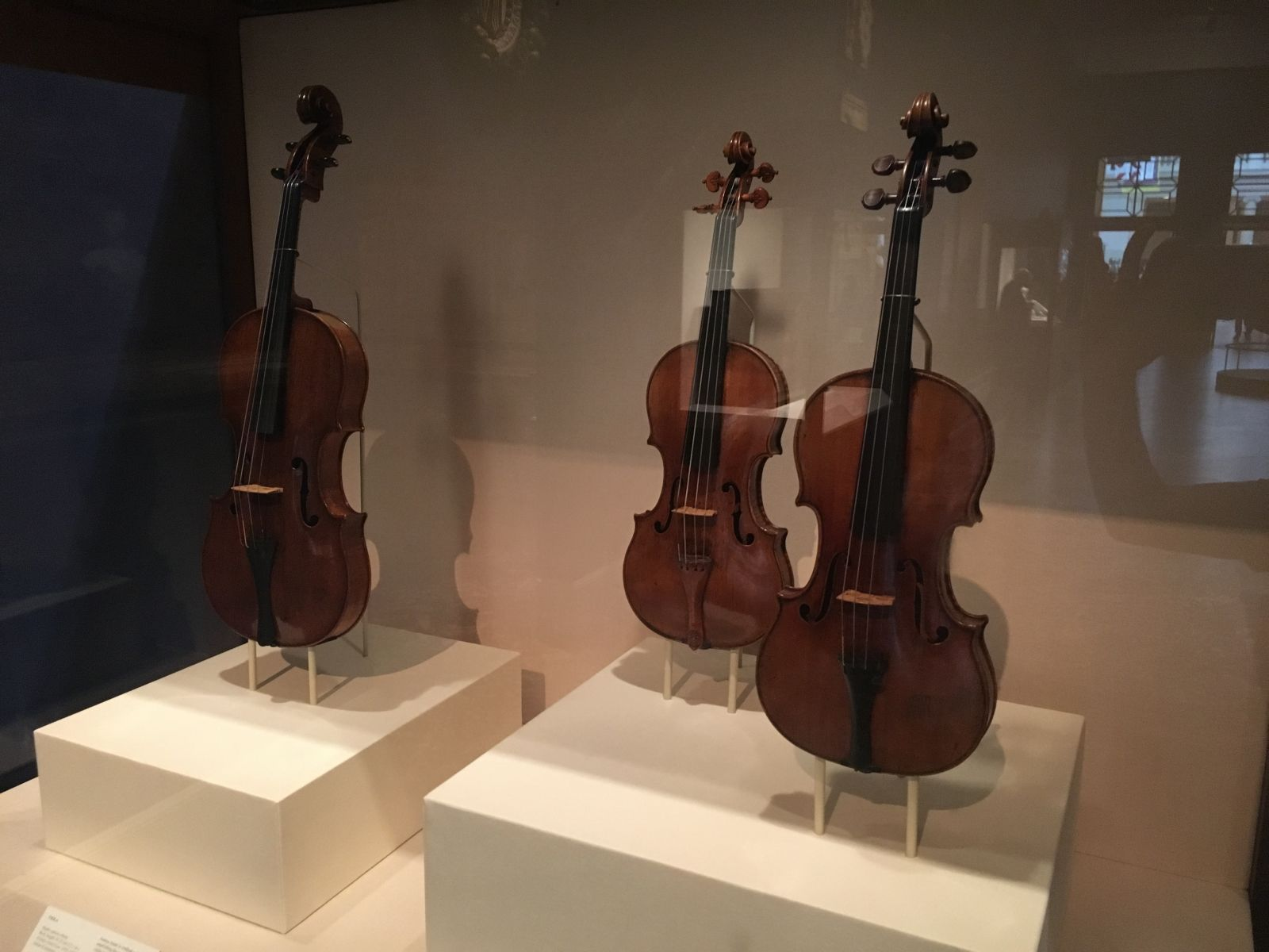 Amati & Strad Violins at the NY Met Museum