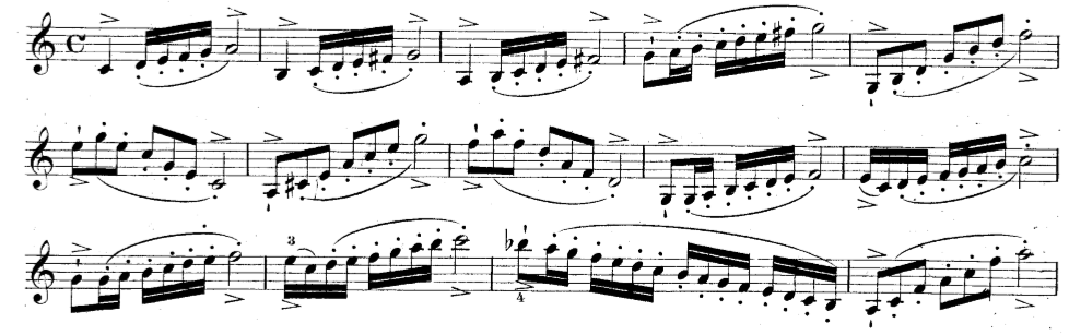 Notation For Bow Strokes The Fingerboard Maestronet Forums