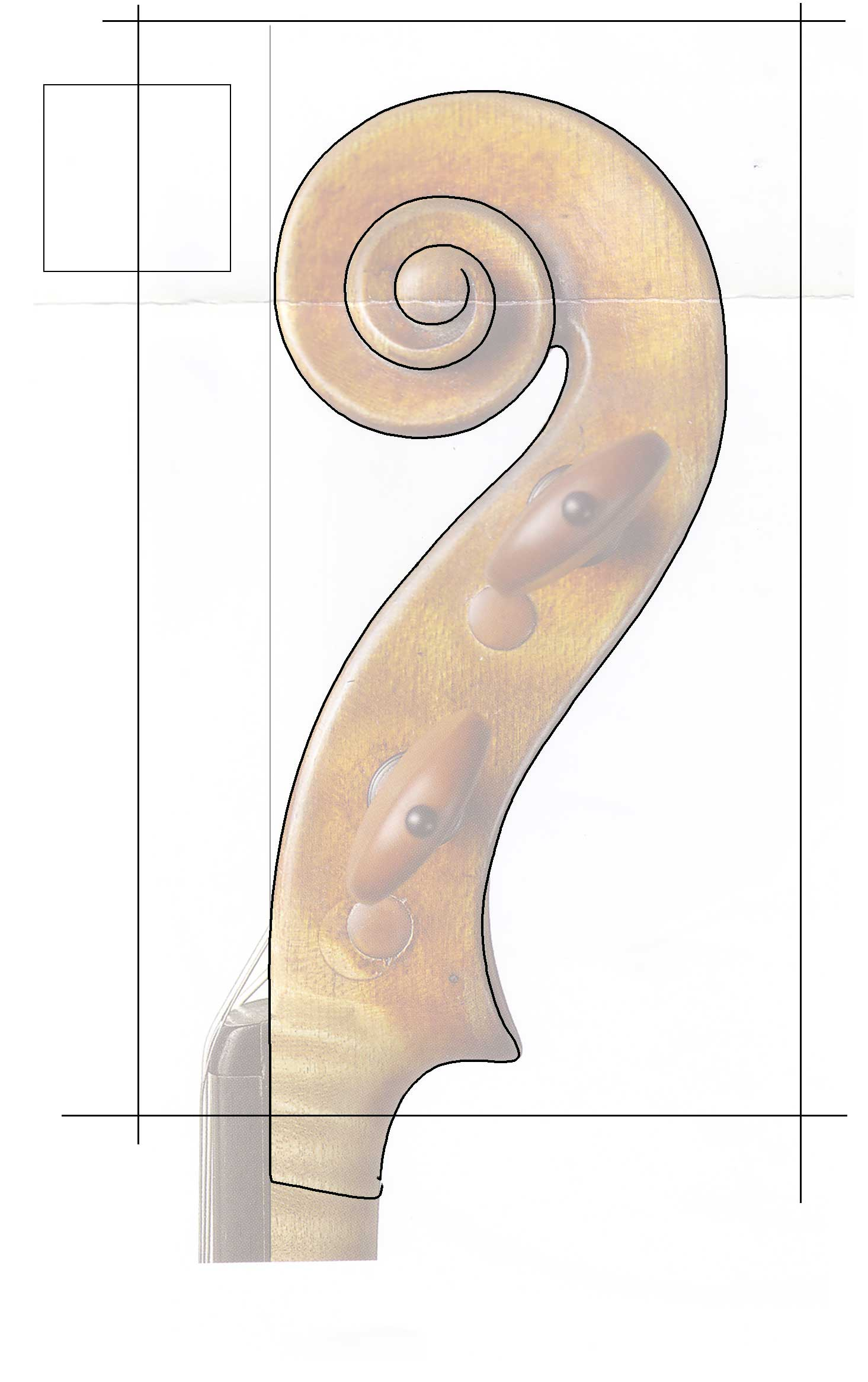Printable TEMPLATES - Violin Scroll / FF holes... - The Pegbox ...