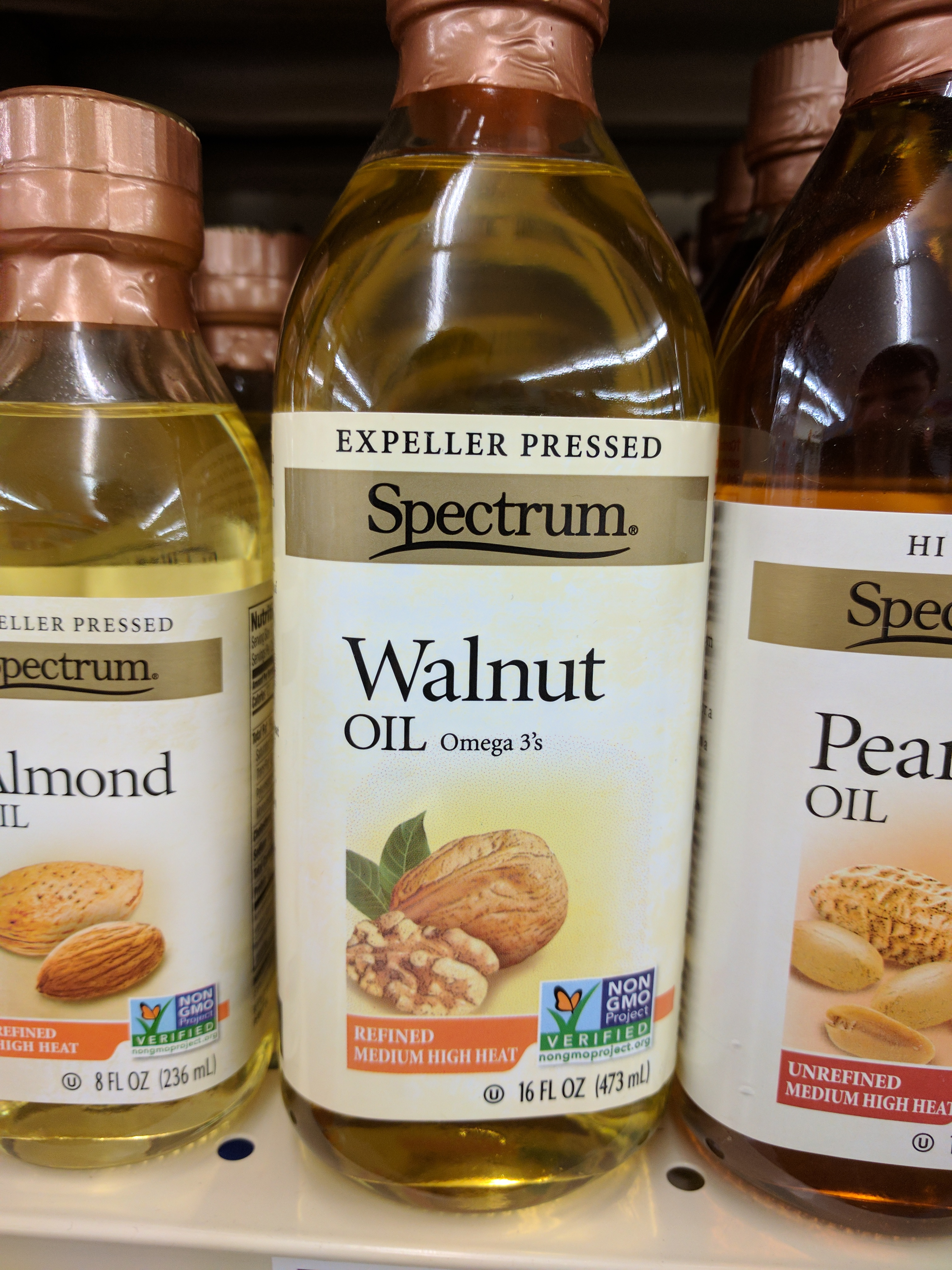 Food Store Cold Pressed Walnut Oil    - The Pegbox