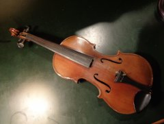 Violin and bow restoration