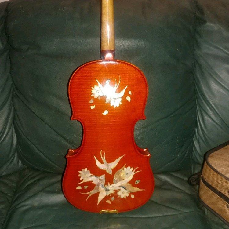 1990s inlaid Chinese violin.JPG